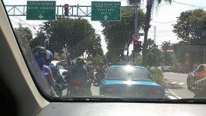 Pengalaman naik taksi Uber di Surabaya dari Bandara Juanda. Foto: dok. pribadi