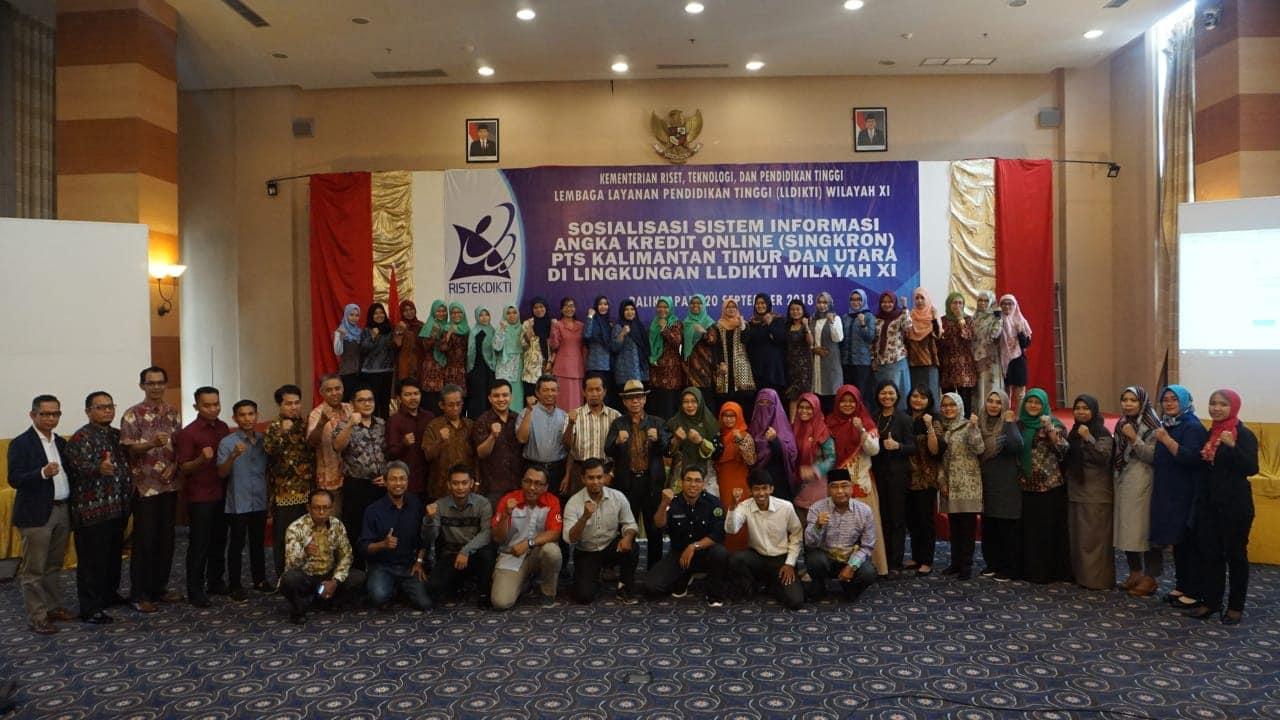Sosialisasi Karir Jabatan Fungsional Dosen di Aplikasi Online Singkron