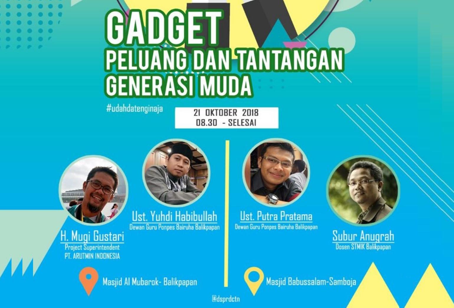 Gadget, Peluang dan Tantangan Generasi Milenial