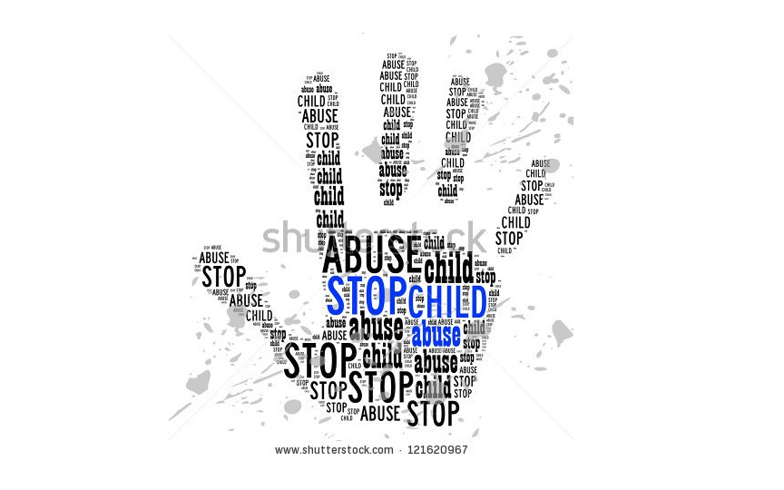 Hentikan mengeksploitasi anak!
