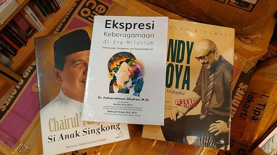 Membeli Buku Anak Singkong, Andy Noya, dan Keberagamaan