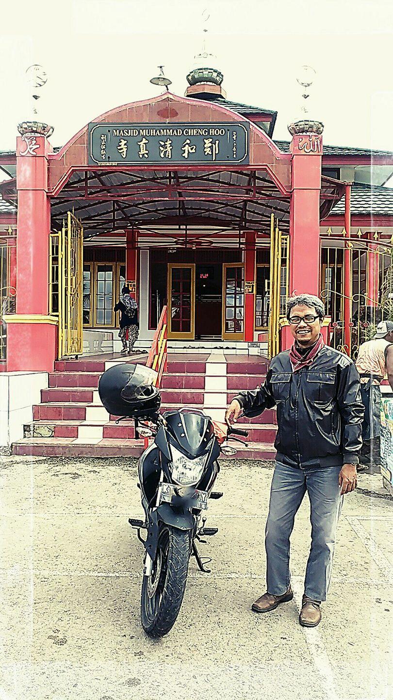 Touring Balikpapan Samarinda, Singgah di Masjid Cheng Ho Loa Janan Kukar