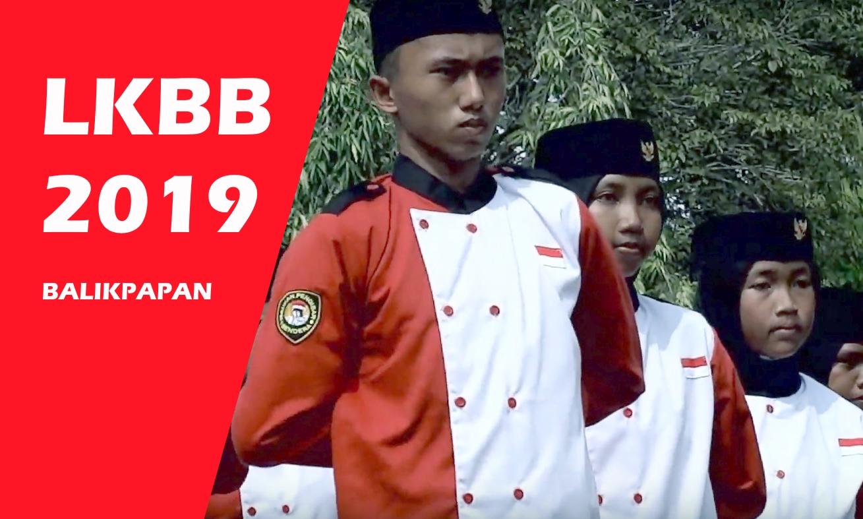 Salah satu tim baris berbaris peserta LKBB 2019. Source: dok. pribadi
