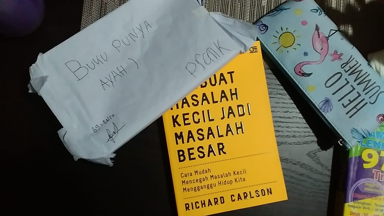 Richard Carlson, Dont Sweat the Small Stuff. Foto: dok. pribadi