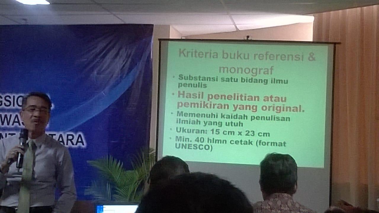 Prof Dr Husaini SKM MKes. Foto: dok. pribadi