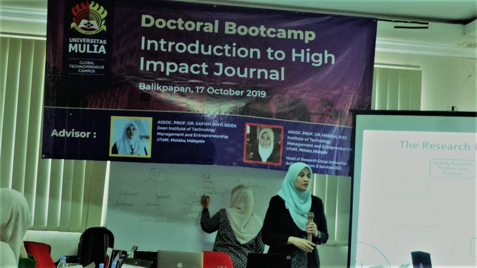 Prof. Dr Masilla MSc dari Universitas Teknologi Melaka Malaysia, Kamis (17/10). Foto: dok. pribadi
