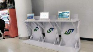 Internet Corner Bandara Internasional SAMS Sepinggan Balikpapan. Foto: dok. pribadi