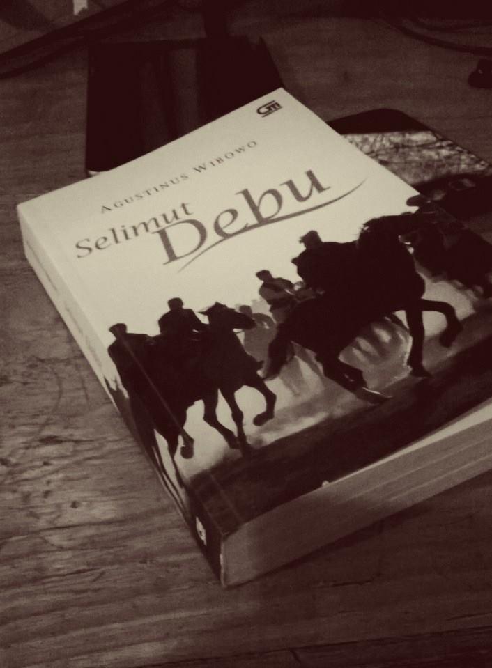 Selimut Debu, kisah perjalanan. Foto: dok. pribadi